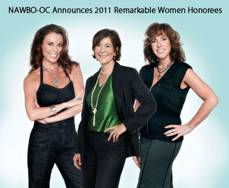 NAWBO-OC Announces 2011 Remarkable Women Honorees